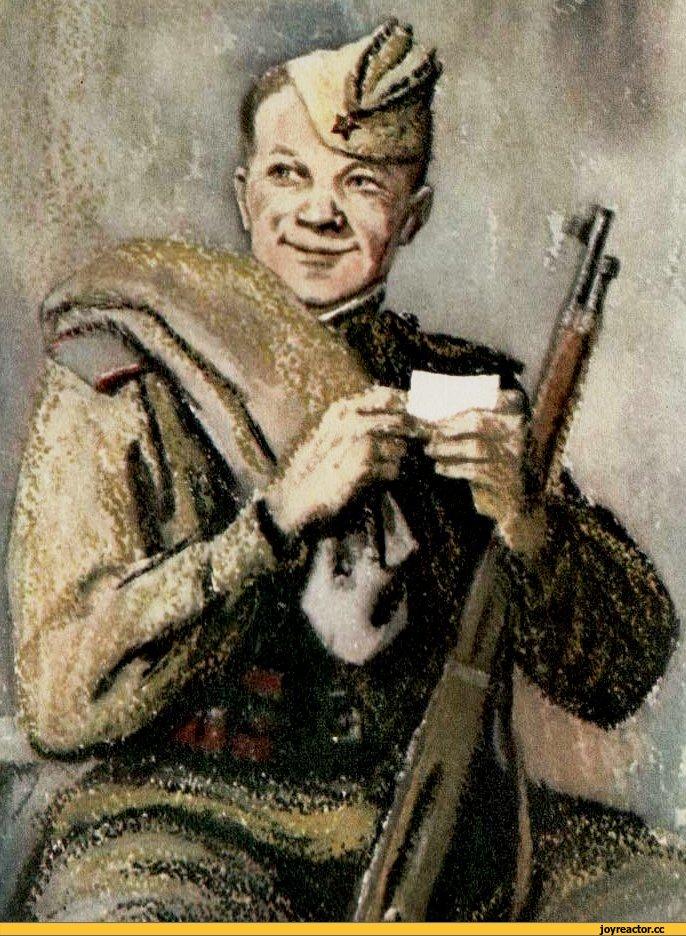 Василий Тёркин-иллюстрация